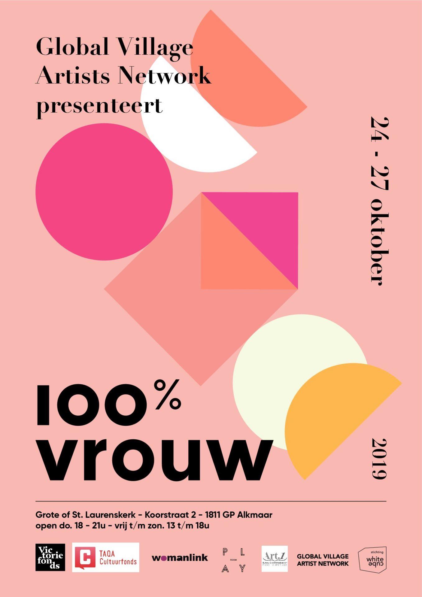 100% FEMALE, Grote of St. Laurens Kerk, Alkmaar