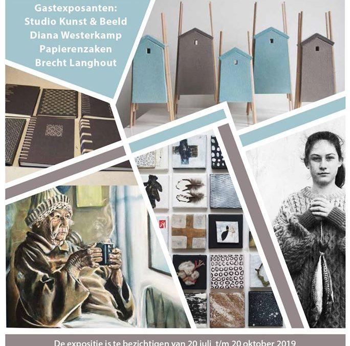 2019:, Zee, Studio Kunst & Beeld, FleXwerkjes, Galerie Onopgemerkte Schatten, Enkhuizen